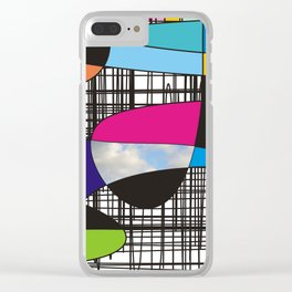 True colors no.79 Clear iPhone Case