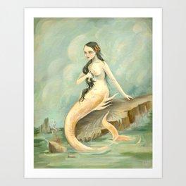 I Have Heard the Mermaids Singing Art Print