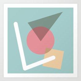 Imperfect Geometries #3 Art Print