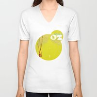oz V-neck T-shirts featuring Welcome to Oz by Oh! My darlink