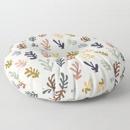 Henry Matisse Inspired Seaweed  Floor Pillow