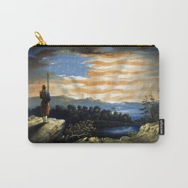 Our Heaven Born Banner Carry-All Pouch
