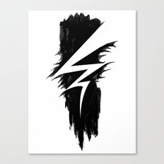 Lightning Arts Logo Canvas Print