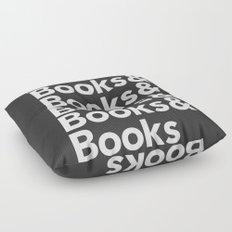 Books & Books & Books Floor Pillow