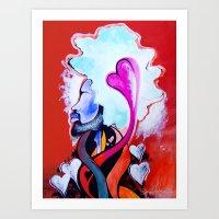 Mister Good Vibes Art Print