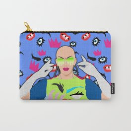 Sasha Velour Carry-All Pouch