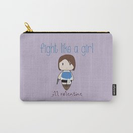 Fight Like a Girl 31 - Jill Valentine Carry-All Pouch