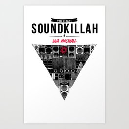 Original SoundKillah inna Dancehall Art Print