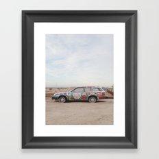 Car Art Framed Art Print