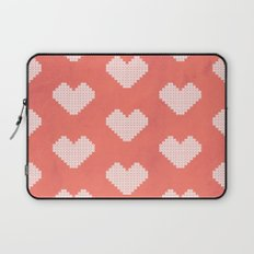 Heart X Red Laptop Sleeve