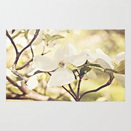 Dogwood in bloom Rug