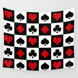 Playing card Wall Tapestry