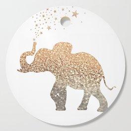 GOLD ELEPHANT Cutting Board