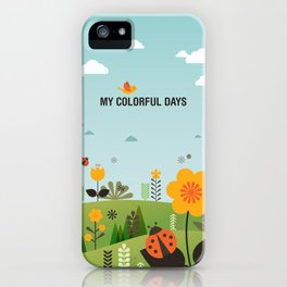 My Colorful Days iPhone Case