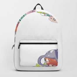 Kittea Earl Grey - A cat in a tea cup T-Shirt Backpack