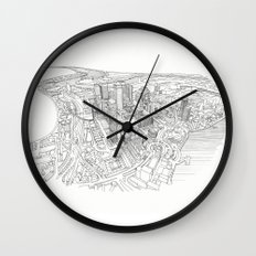 Canary Wharf Wall Clock