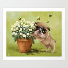 Sweeter than Honey Art Print