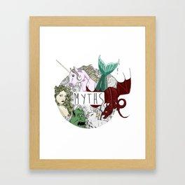 Myths Framed Art Print