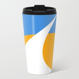 Redding City Flag Metal Travel Mug