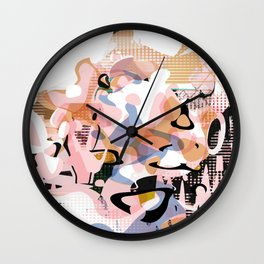 Atomic Age Milkshake Wall Clock