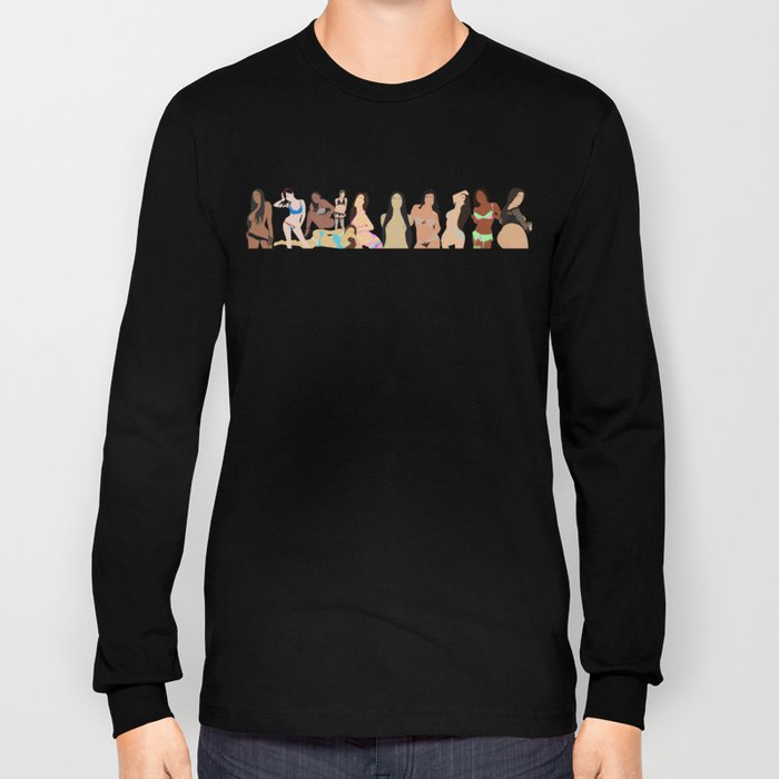 Girls Girls Girls Long Sleeve T-shirt