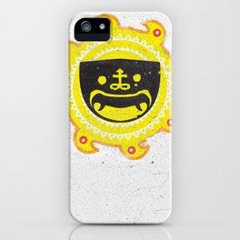 Mask of Cap iPhone Case