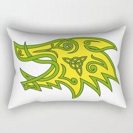 Boar Head Celtic Knot Rectangular Pillow