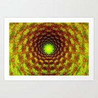 Jolly Green Galaxy Art Print