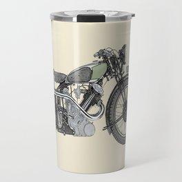 1935 Panther Motorcycle illustration Travel Mug