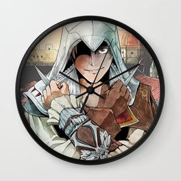 Assassin's Creed II Ezio Firenze #1 Wall Clock