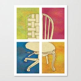 Take a Seat Canvas Print