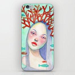Coralie iPhone Skin