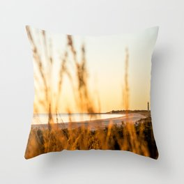 Modest Landscape Throw Pillow