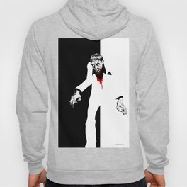 THE WORLD IS THIERS Zombie years print Hoody