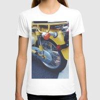 moto T-shirts featuring Yellow Moto by ThingsLikeStuff