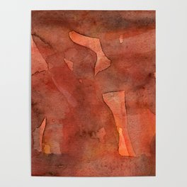 Abstract Nudes Poster