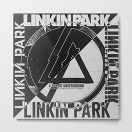 L i n k i n  P a r k - A Decade Underground Metal Print