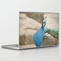 peacock Laptop & iPad Skins featuring Peacock  by Pure Nature Photos
