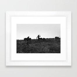 Leave Her Wild Framed Art Print