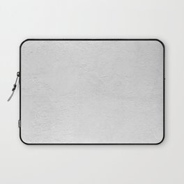 White Wall Texture (Black and White) Laptop Sleeve