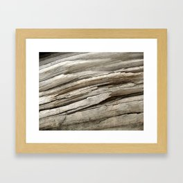 Aged Wood Framed Art Print