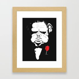 The DogFather Framed Art Print