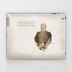 The One Less Traveled By Laptop & iPad Skin