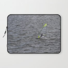 Wind Surfing in Key Biscayne Miami Laptop Sleeve