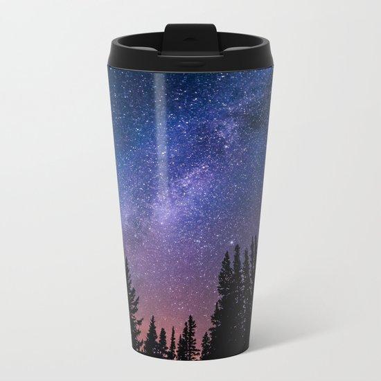 Wide Awake Metal Travel Mug