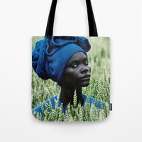 model Tote Bags featuring Model by Jada Mosely