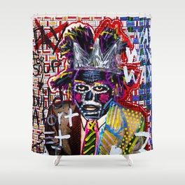 Jean-Michel Basquiat Shower Curtain
