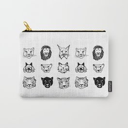 Cats and a beagle Carry-All Pouch