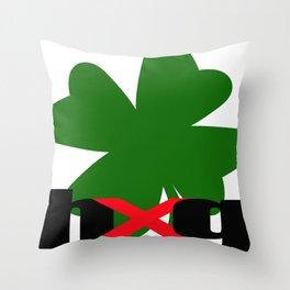 Shamrock_hug Throw Pillow