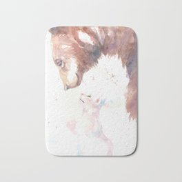 The bear, the cat and the tree of truth Bath Mat